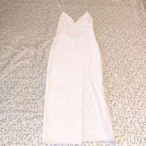 FASHION NOVA White Maxi Dress